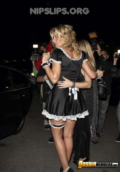 1b16 31 Alyson Michalka is a vampire french maid slut Get more nipple slips at Nipple Slips org