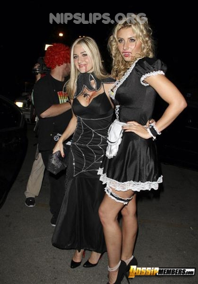 e599 11 Alyson Michalka is a vampire french maid slut Get more nipple slips at Nipple Slips org
